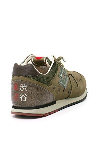 Leggenda Shibuya Tokyo Lotto Chaussures de Homme Gymnastique vert militaire dw6xq7q