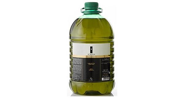 La Boella. Aceite de oliva arbequina. Caja de 3 garrafas de 5L: Amazon.es: Alimentación y bebidas
