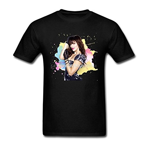 Price comparison product image RONGBANG Men's Katharine McPhee Hysteria Pop T-shirt XL ColorName Short Sleeve