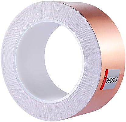 SYCEES 25M x 50mm Cinta Adhesiva EMI Kapton Cinta adhesiva ...