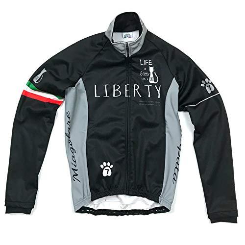 ペネロペ安心オープナーセブンイタリア Liberty Cat Jacket ブラック S(78W-LCT-JK-BK-S)