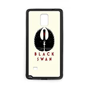 Black Swan Poster Samsung Galaxy Note 4 Cell Phone Case Black&Phone Accessory STC_954557