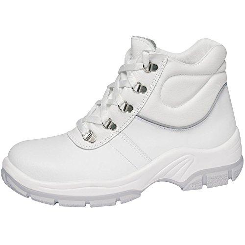 Abeba 1635 – 36 Protektor Line Scarpe di sicurezza stivali, Bianco, 1635-38 -