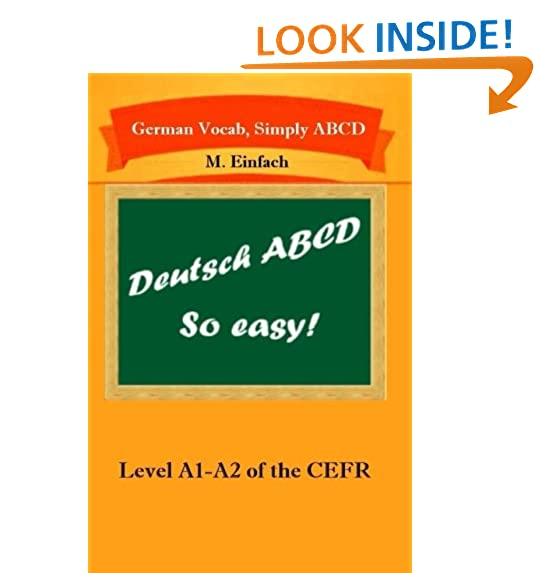 German books a1 amazon german vocab simply abcd level a1 a2 of the cefr volume 1 fandeluxe Choice Image
