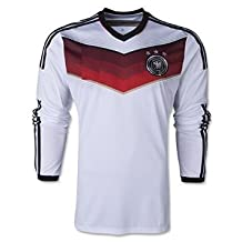 Germany Home Kids Soccer Kit Long Sleeve Jersey and Shorts All Youth Sizes