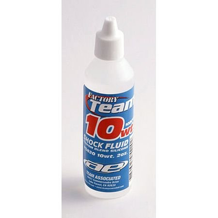 Team Associated 5420 10 Weight Silicone Shock Oil, 2-Ounce
