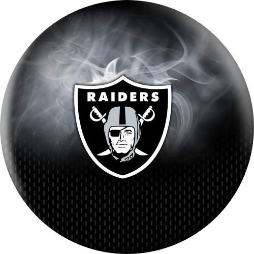 NFL-Las-Vegas-Raiders-On-Fire-Undrilled-Bowling-Ball