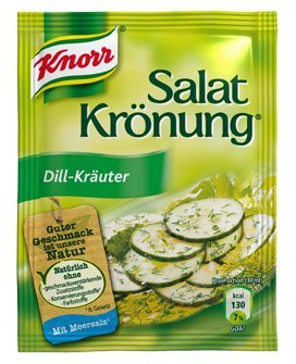 Knorr Salatkrönung Dill Kräuter (dill herbal) (5 Pc.) 3 Packs