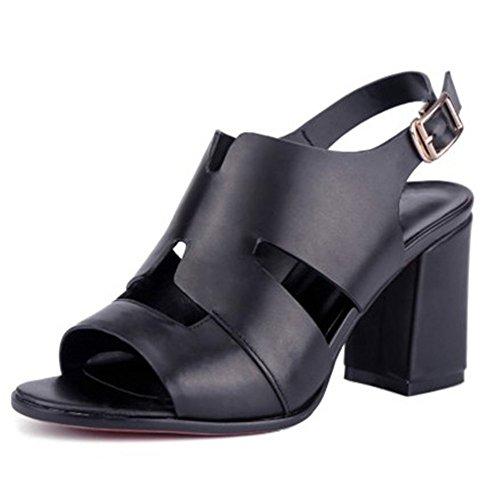 Nine SevenSandals - Zapatos de tacón  mujer negro