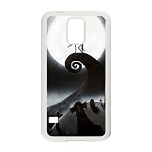 Nightmare Before Christmas Samsung Galaxy S5 Cell Phone Case White mkcr