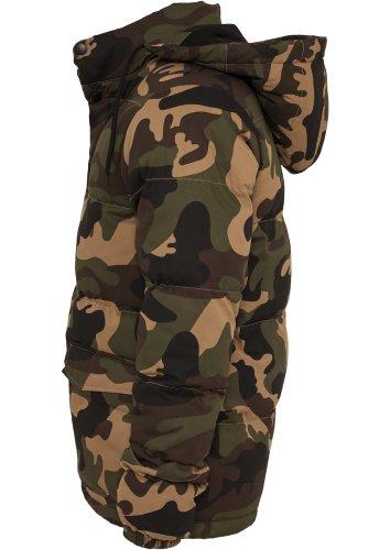 Urban Classics TB627 Camo Winter Jacket Man Regular Fit Wood Camo Mimetica XXL