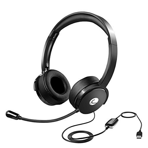 Headphone Cancelling Microphone Conference Cellphone