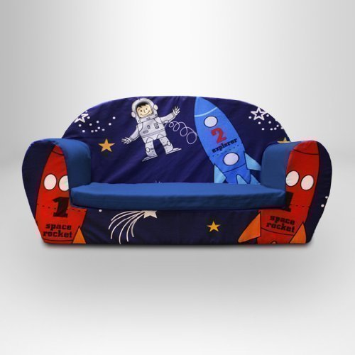 Ready Steady Bed Childrens Foam Sofa, Space Boy