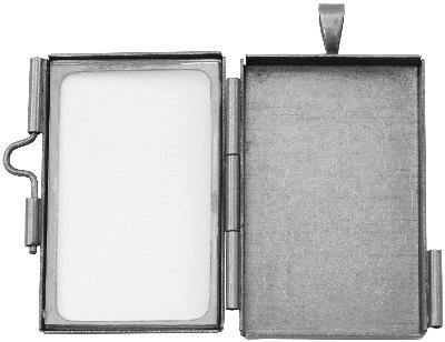Tim Holtz Assemblage Locket -rectangle ()
