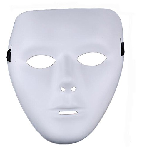 Jabbawockeez Ghost Dance Hip Hop Street Dance White Mask (White for (Jabbawockeez Costume)