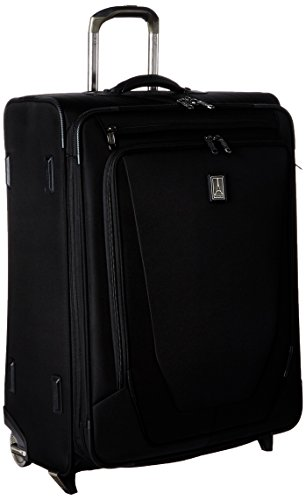 Travelpro Crew 11 26'' Expandable Rollaboard Suiter Suitcase, Black by Travelpro