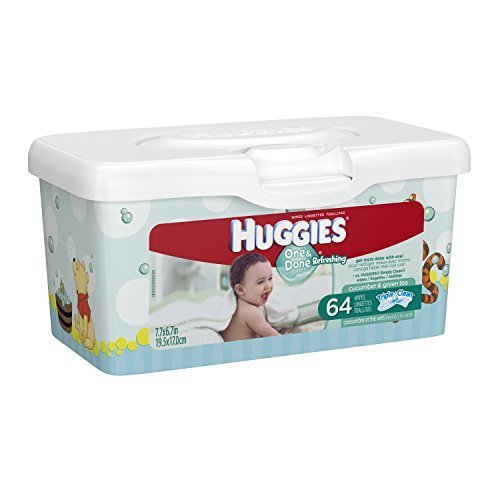 Huggies Refreshing Wipes Total 64 Count