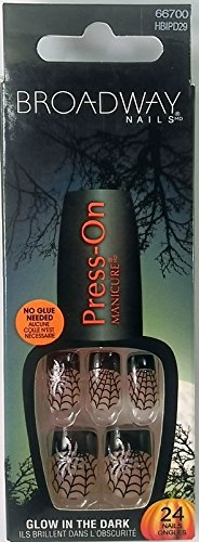 Broadway Nails Press-On Manicure Halloween ~ Fangtastic -