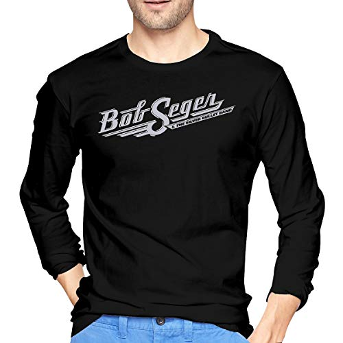 Bob Seger The Silver Bullet Band Men's Adult Ultra Cotton Long Sleeve T-Shirt ()