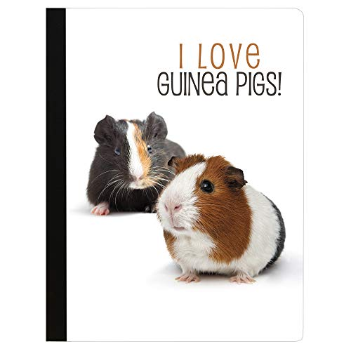 Tree-Free Greetings I Love Guinea Pigs Soft Cover 140 Page Tree-Free Composition Book, 9.75