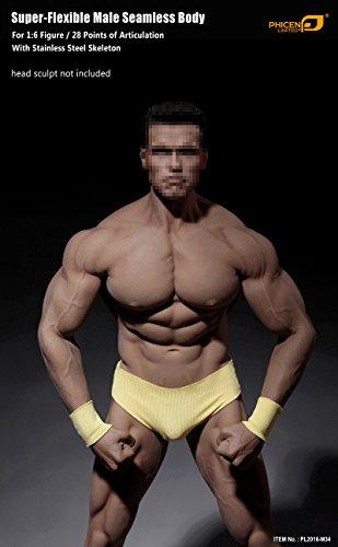 41Tp%2BMQv9hL - Phicen 1/6 Scale Super Flexible Male Muscular Seamless Body PL2016-M34