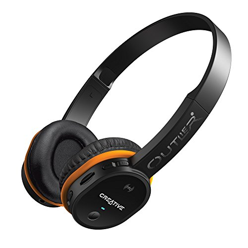 Mp3 Battery Labs Creative (Creative Outlier Wireless Bluetooth On-ear Headphones with Integrated microSD Card MP3 Player (Black))