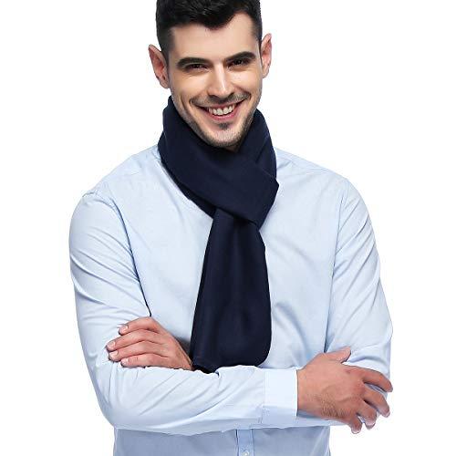 - HOYAYO Mens Classic Cashmere Warm Long Winter Scarf