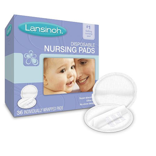 Lansinoh Disposable Nursing Pads - 36-Pk