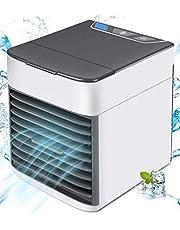 مبرد هواء 3 في 1 مكيف هواء صغير مرطب ومنقي- 3 سرعات - 7 الوان - اضواء LED - تكييف للمجال الشخصي - تبريد الهواء سطح المكتب المحمول