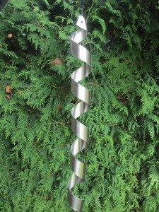 Edelstahl Spirale Windspiel Gartendeko Feng Shui: Amazon.de: Garten