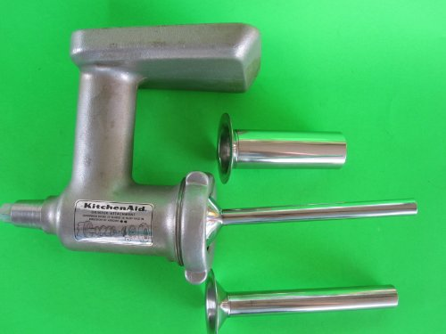 (3) Sausage Stuffer Tubes for Kitchenaid meat grinder attachment. STAINLESS STEEL