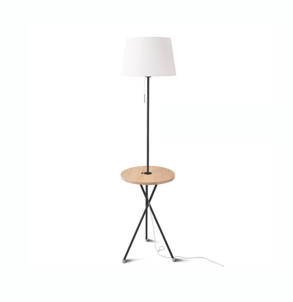 フロアランプ、コーヒーテーブルフロアランプリビングルームのベッドルーム北ヨーロッパアメリカンビレッジ和風ソファのログテーブルランプE27 (色 : #4) B07DD72X4X 27696 #4 #4