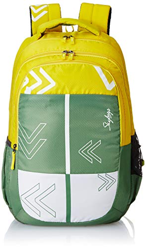 Skybags Bingo Plus 04 32 Ltrs Green Casual Backpack (Bingo Plus 04)