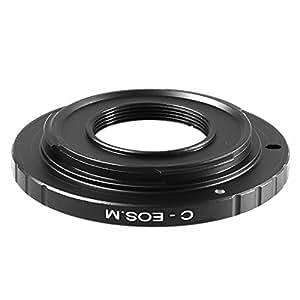 C Mount CCTV Movie Lens to Canon EOS M EF-M Mount Adapter C-EOSM