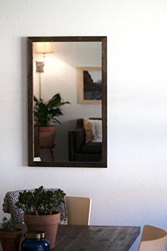 Rustic Wall Mirror - Wall Mirror - 18 x 30 Vanity Mirror - Bathroom Mirror - Rustic Mirror - Reclaimed Wood Mirror - Bathroom Vanity by Hurd & Honey