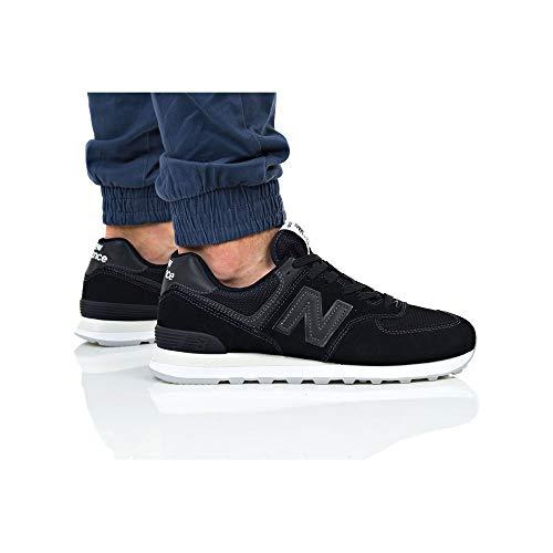 New Balance 574v2 Black ml574eta Sneaker Uomo rfrgAqR