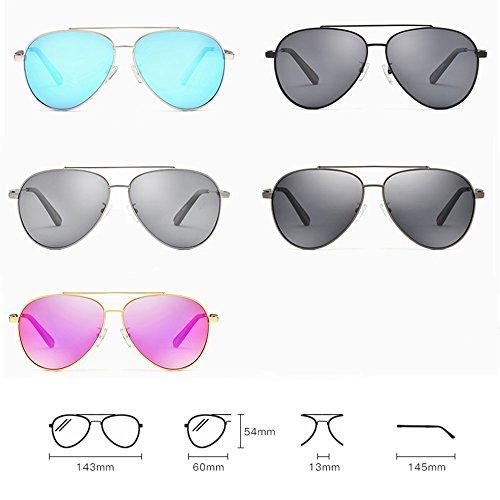 Gafas Gafas aviador sol de de hombre retro de sol de de para Gafas sol Color protección conducción de sol sol Gafas de D Gafas E SSSX de polarizadas UV dxqvzwd
