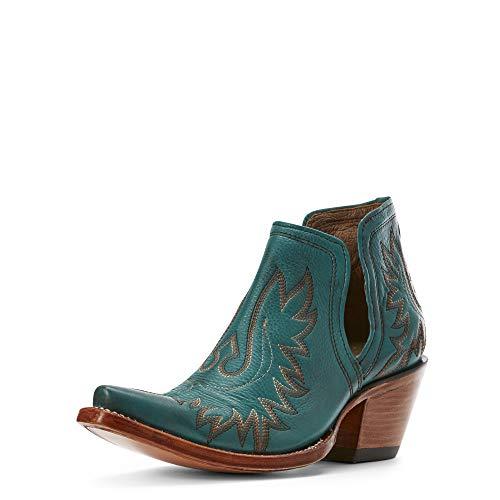 Ariat Women's Women's Dixon Western Boot, Agate Green, 11 B US (Womens Cowboy Boots Purple)