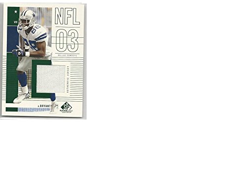 Football NFL 2003 Upper Deck SP Game Used Edition #136 Antonio Bryant #136 NM-MT MEM from SP Game Used Edition