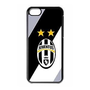 iPhone 5C Phone Case Black Juventus WN5N7NSV Rugged Cell Phone Case
