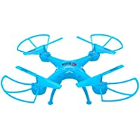 Tecesy Headless Mode RC Quadcopter Drone with 3D Flip 2.4Ghz 6-Axis Gyro for Beginner, Sky-Blue