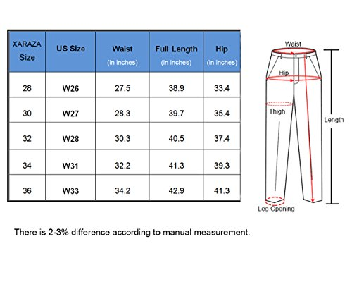 Men's Skinny Ripped Destroyed Slim Fit Jeans Denim Pants With Zipper and Broken Holes (W26, Khaki)