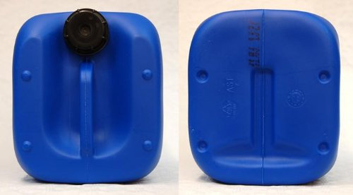 DIN 61 25 Liter Kanister blau Camping & Outdoor Flaschen ...