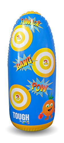 Taylor Toy Inflatable Punching Bag for Kids - Free Standing Bounce Back Punching Bag - Bop Bag