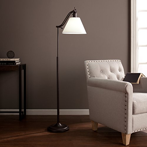 Southern Enterprises Ottlite Maxbury Task Floor Lamp, C (14 Light Transitional Floor Lamp)