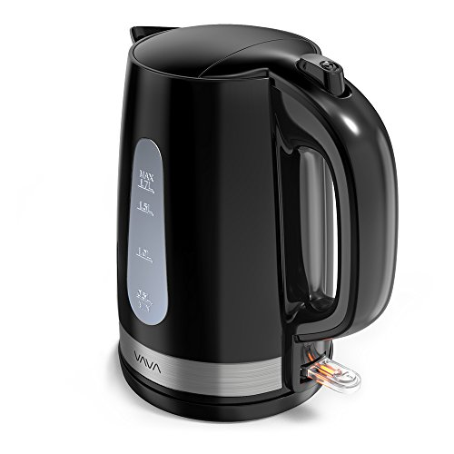 VAVA 1.7L Electric Tea Kettle with British Strix Control, Au