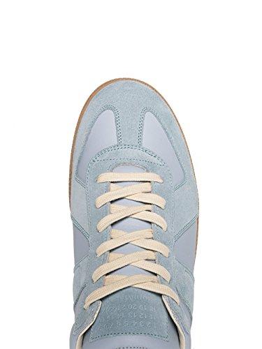 Maison Margiela 11 Maison Margiela Herren S57ws0175sy0646479 Hellblau Leder Sneakers