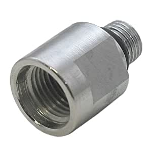 3 8 male to 1 2 female regulator adapter aa49 garden hose parts patio lawn for Male to male garden hose adapter