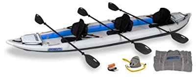 SE465FT_P Sea Eagle FastTrack 465ft Inflatable Kayak Pro Package