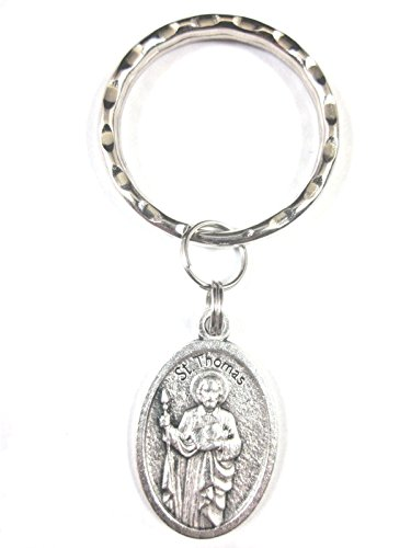 (VPP St Thomas The Apostle Medal Italy Key Ring Gift Box Prayer Card)